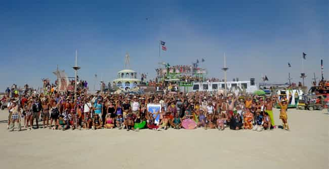 You Don't Get To Choose Your O... is listed (or ranked) 4 on the list The Strangest Rules You Didn't Know People At Burning Man Have To Follow