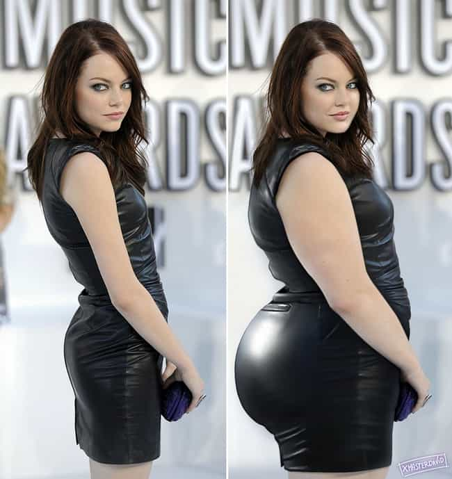 Stocky Emma Stone is listed (or ranked) 4 on the list The Biggest Celebrities Just Got Bigger