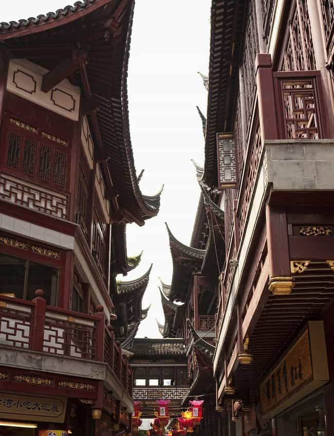 Chinese Curved Roofs Are Meant... is listed (or ranked) 3 on the list 12 Macabre Items Cultures Have Used To Ward Against Evil