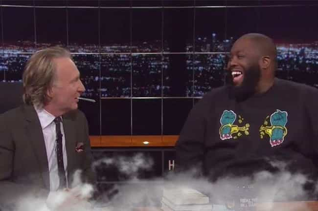 Bill Maher And Killer Mike is listed (or ranked) 1 on the list Famous People Who Smoked Weed On Live TV