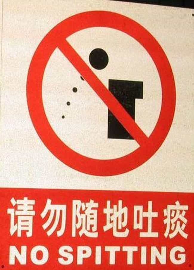 Everyone Spits All Over ... is listed (or ranked) 1 on the list Things That People Never Told You About Living In China