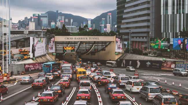 Traffic Jams Can Last Fo... is listed (or ranked) 2 on the list Things That People Never Told You About Living In China