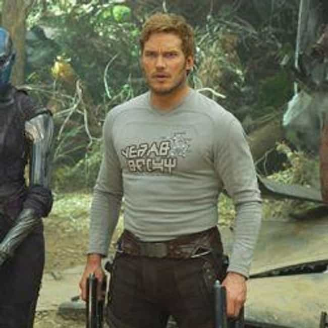 Yeah Baby T-Shirt (Worn ... is listed (or ranked) 4 on the list 13 Perfectly Subtle Merch Ideas From Guardians Of The Galaxy Vol. 2