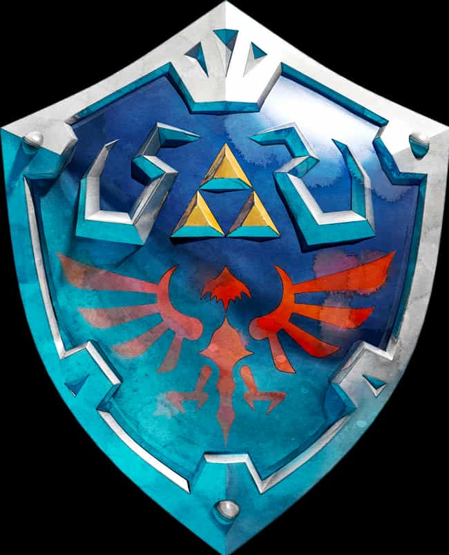 The Triforce Emblem From The L... is listed (or ranked) 1 on the list 11 Fictional Weapons That Have Secret Meanings Behind Them