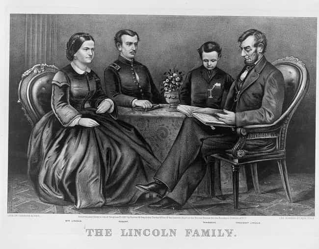 Three Of Her Four Sons Died Be... is listed (or ranked) 3 on the list Heartbreaking Facts About Mary Todd Lincoln, America's Most Tragic First Lady