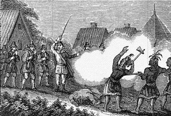 King Philip's War Left T... is listed (or ranked) 2 on the list The Bridgewater Triangle: The Focal Point Of Paranormal Phenomena In America