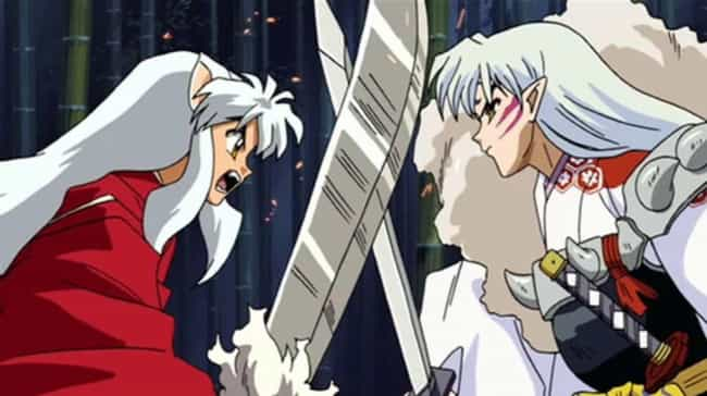 Inuyasha & Sesshouma... is listed (or ranked) 3 on the list The 15 Most Screwed Up Sibling Relationships In Anime