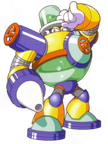 Aqua Man is listed (or ranked) 1 on the list The 15 Lamest Mega Man Villains In Franchise History