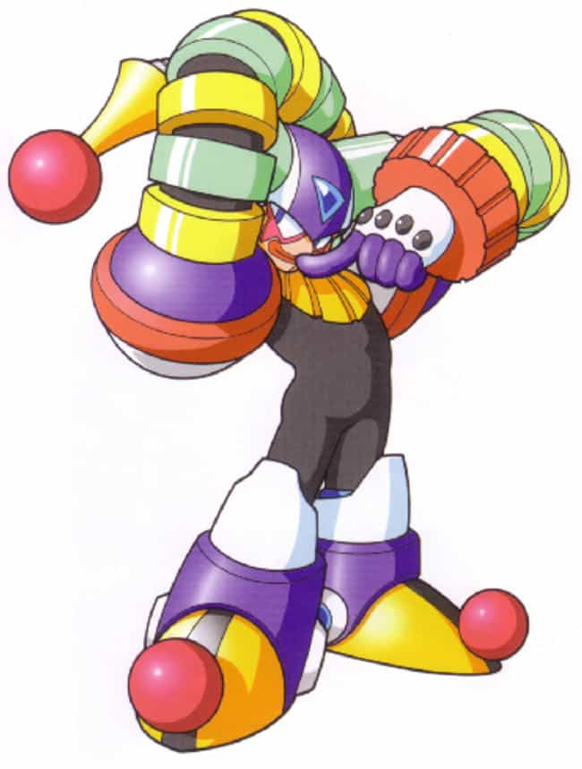 Clown Man is listed (or ranked) 2 on the list The 15 Lamest Mega Man Villains In Franchise History
