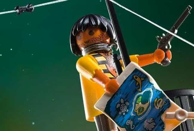 Playmobil Pirate Ship Set With... is listed (or ranked) 3 on the list 11 Insanely Cringeworthy And Racist Attempts To Diversify Toy Lines