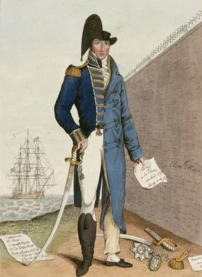 He Was Kicked Out of Par... is listed (or ranked) 2 on the list The Bizarre Life of Thomas Cochrane, British Admiral And South American Mercenary