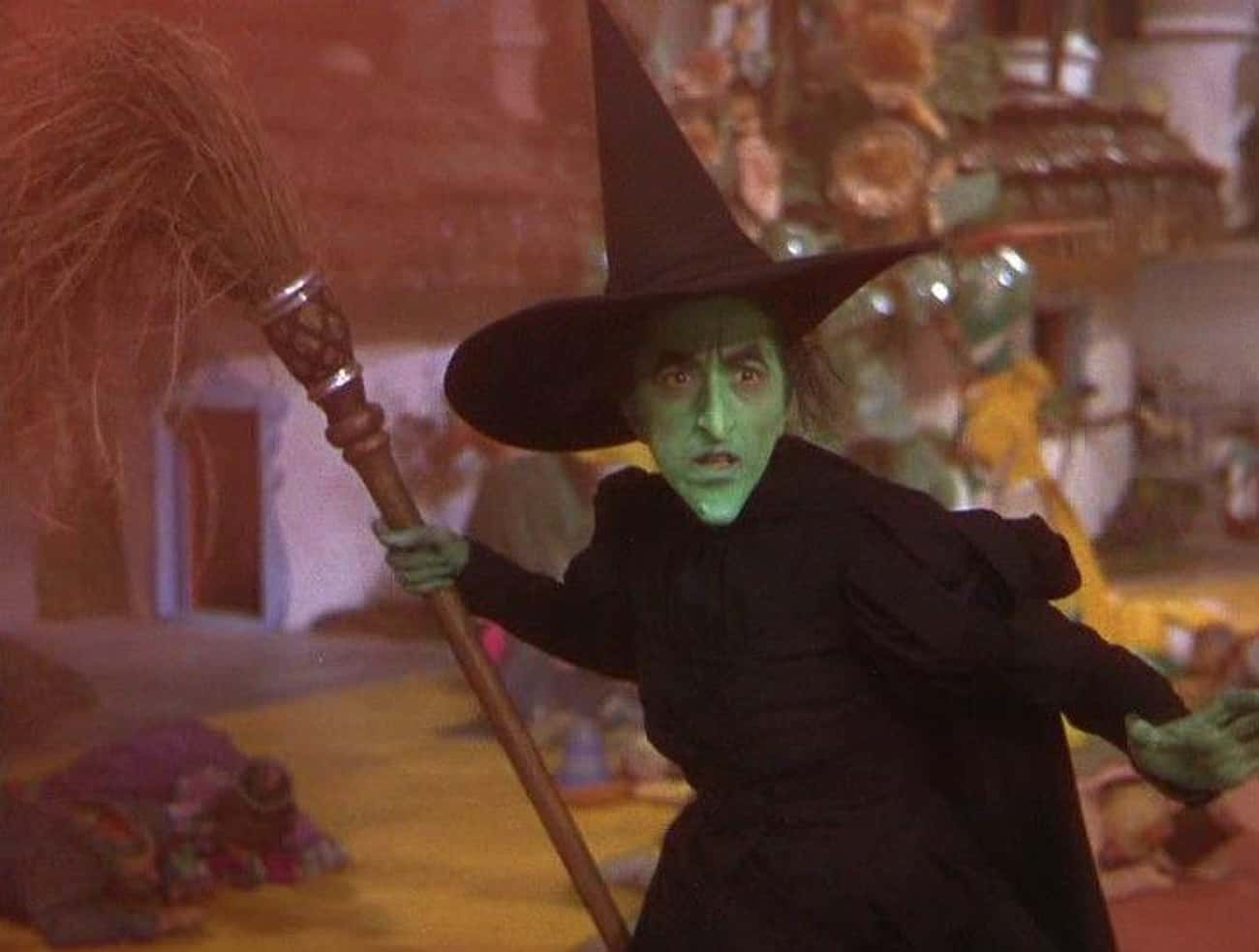 The Wicked Witch Got Burned On is listed (or ranked) 3 on the list 15 Nightmare Stories From Behind-The-Scenes Of 'The Wizard of Oz'