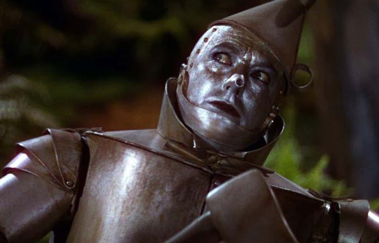 The Tin Man Was Poisoned. Also is listed (or ranked) 4 on the list 15 Nightmare Stories From Behind-The-Scenes Of 'The Wizard of Oz'