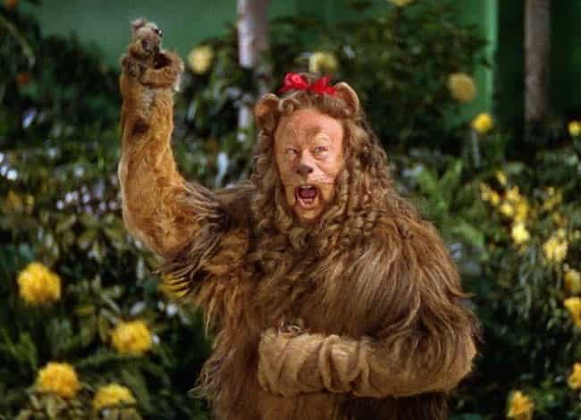 The Cowardly Lion's Outfit... is listed (or ranked) 7 on the list 16 Nightmare Stories From Behind-The-Scenes of Filming 'The Wizard of Oz'