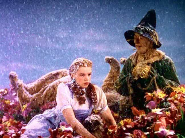 The Actors Were Sprinkled With... is listed (or ranked) 5 on the list 16 Nightmare Stories From Behind-The-Scenes of Filming 'The Wizard of Oz'