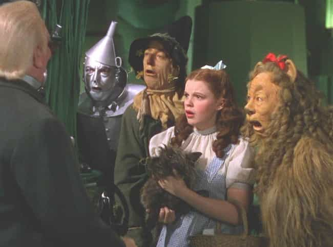 Judy Garland Was Slapped For L... is listed (or ranked) 6 on the list 16 Nightmare Stories From Behind-The-Scenes of Filming 'The Wizard of Oz'