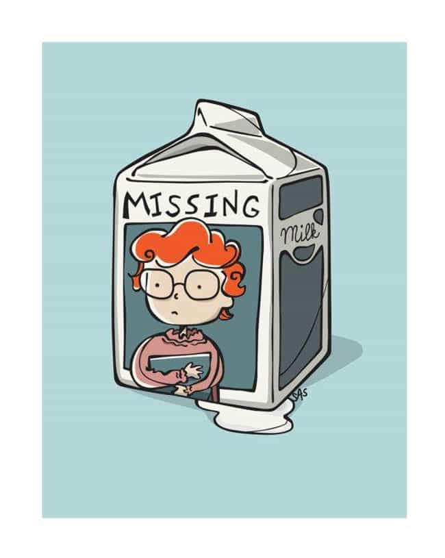 Milk Carton is listed (or ranked) 1 on the list An Ode to Barb on Stranger Things in Fan Art Form