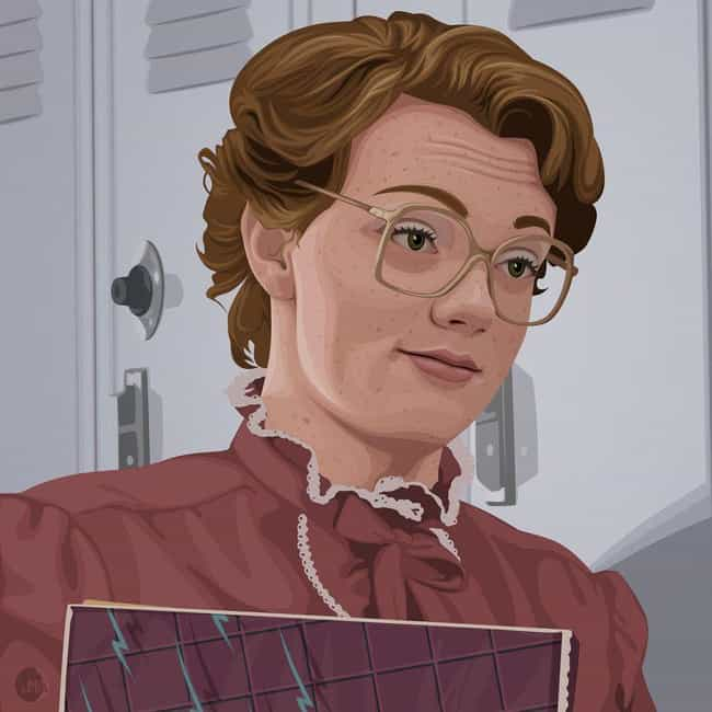 Vector Art is listed (or ranked) 4 on the list An Ode to Barb on Stranger Things in Fan Art Form