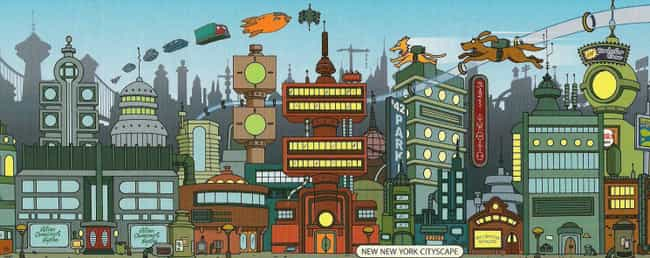 Its Crazy 31st Century S... is listed (or ranked) 4 on the list 10 Reasons Why Futurama Is Fundamentally Better Than The Simpsons