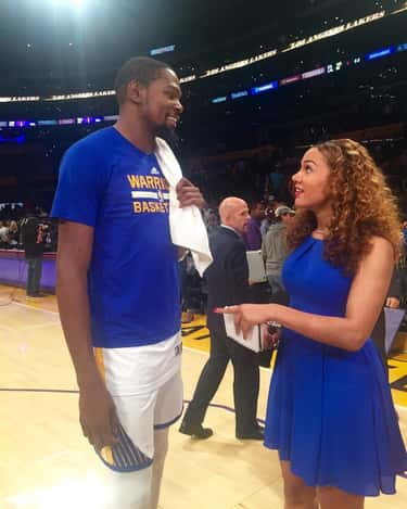 """Rosalyn """"Ros"""" Gold-Onwude is listed (or ranked) 2 on the list Women Who Kevin Durant Has Dated: Girlfriends, Flings & Hookups"""