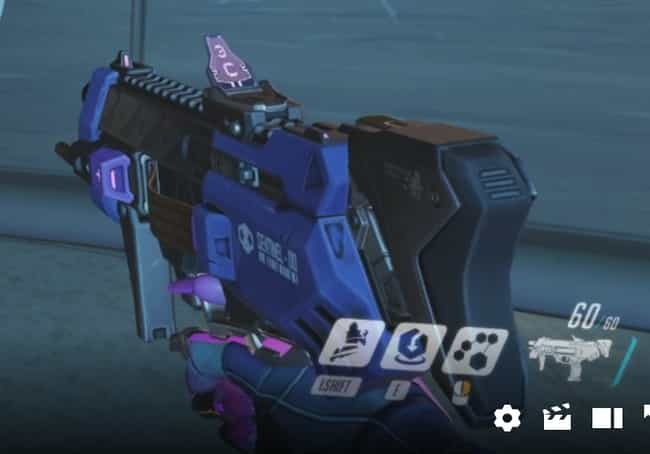 Sombra's Gun From Overwatc... is listed (or ranked) 2 on the list 11 Fictional Weapons That Have Secret Meanings Behind Them