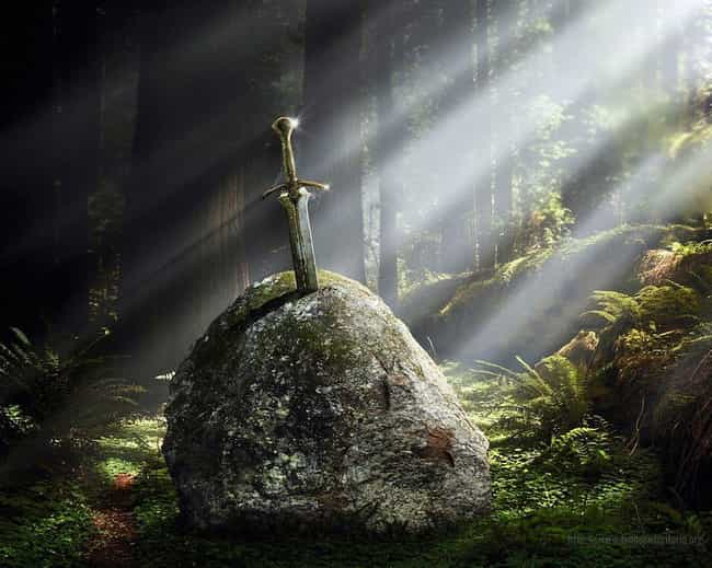 Excalibur is listed (or ranked) 2 on the list 14 Legendary Magical Weapons, Ranked By Awesomeness