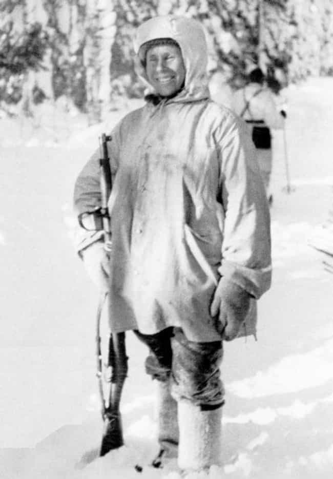 Simo Did All His Work In... is listed (or ranked) 3 on the list 11 Insane Facts About Simo Hayha, The Deadliest Sniper In World History