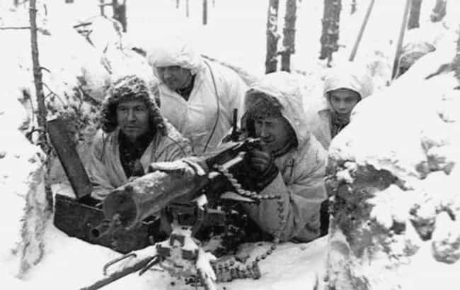 He Held Off 4,000 Soviets With... is listed (or ranked) 7 on the list 11 Insane Facts About Simo Hayha, The Deadliest Sniper In World History