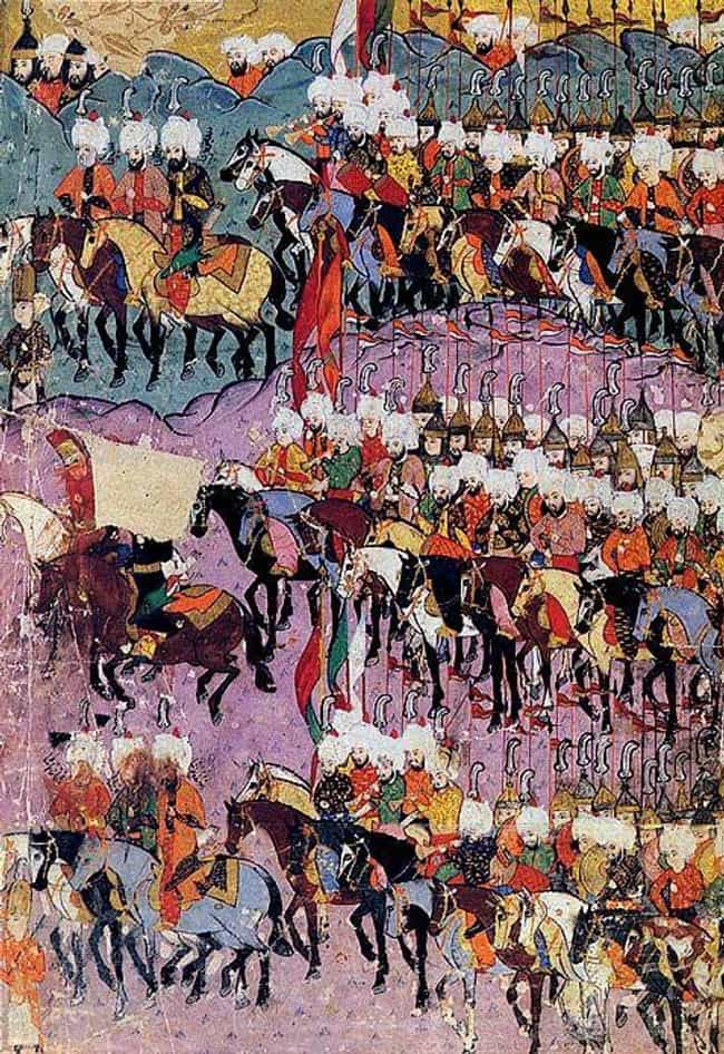 His Vendetta Against The... is listed (or ranked) 1 on the list 16 Grisly Facts About Vlad The Impaler And His Brutal War Tactics