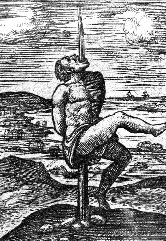 He Impaled Enemies To Scare Pe... is listed (or ranked) 4 on the list 16 Grisly Facts About Vlad The Impaler And His Brutal War Tactics