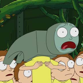 Hammerhead Morty is listed (or ranked) 6 on the list All 39 Versions Of Morty That We've Seen On Rick And Morty