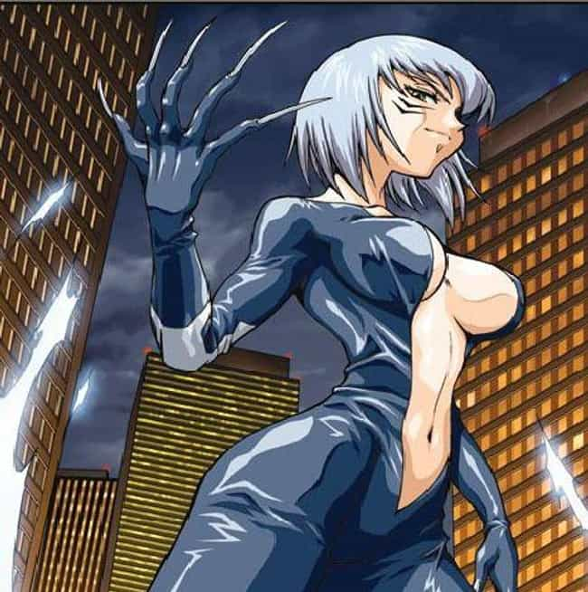 Black Cat Is A Cyborg Se... is listed (or ranked) 1 on the list 17 Insane Manga Versions Of Your Favorite Marvel Superheroes