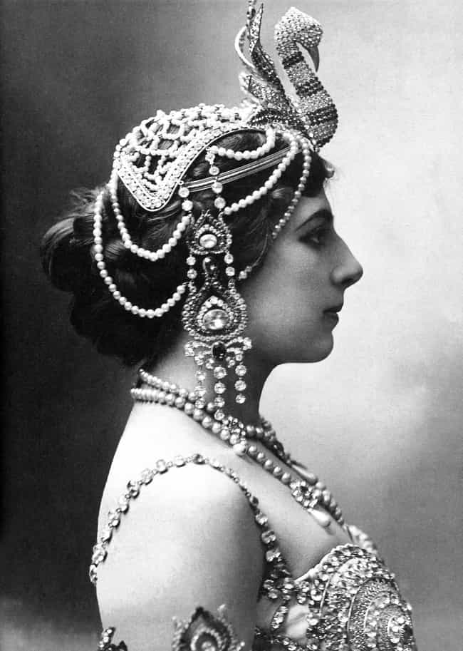 She Took Up Dancing To A... is listed (or ranked) 3 on the list Buckwild Facts About Mata Hari, The Exotic Dancer Who Became A WWI Spy