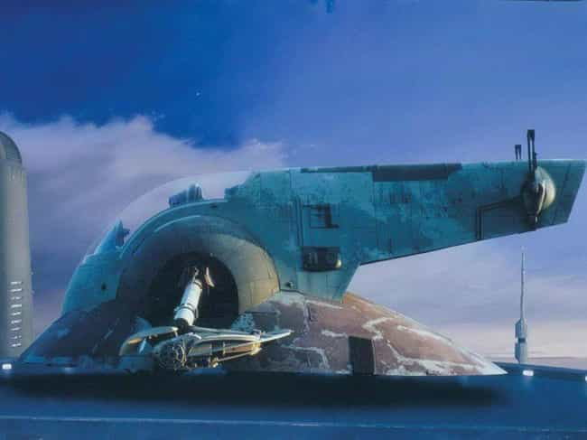 Boba Fett's Ship, Slave I is listed (or ranked) 2 on the list 23 Gorgeous Matte Paintings From The Original Star Wars Trilogy