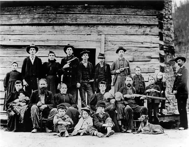 The Hatfield-McCoy Feud ... is listed (or ranked) 3 on the list The 15 Bloodiest, Most Violent Family Feuds In History