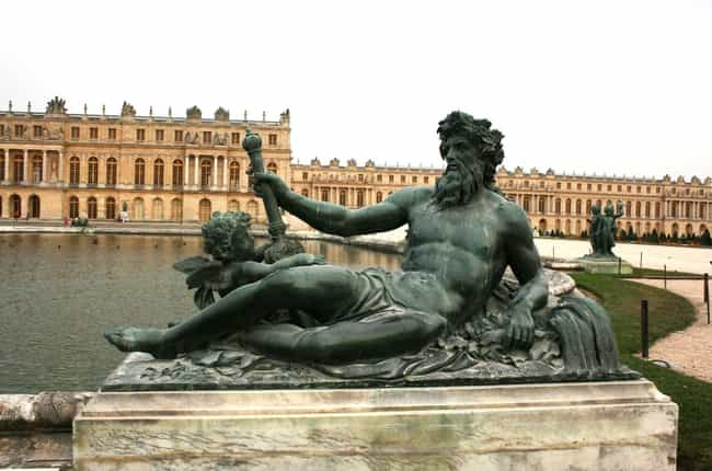 The Palace Of Versailles... is listed (or ranked) 1 on the list 15 Absolutely Insane Facts About The Palace of Versailles