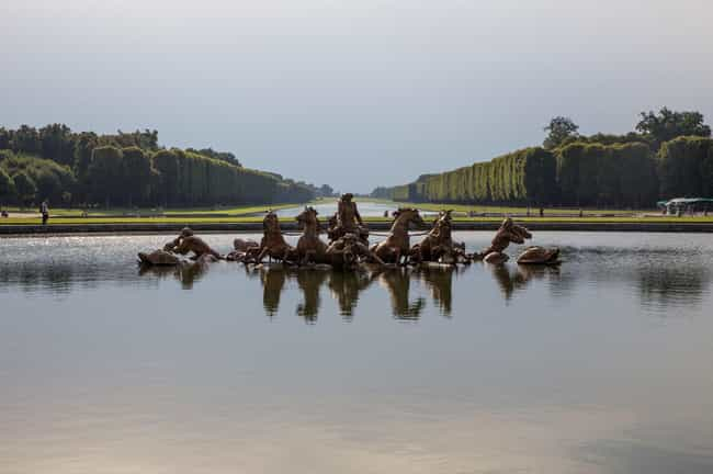 The Sun King Sailed Gond... is listed (or ranked) 3 on the list 15 Absolutely Insane Facts About The Palace of Versailles