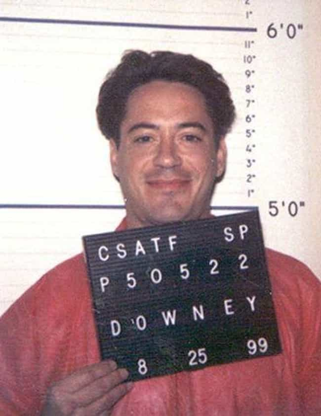 He Was Arrested Multiple... is listed (or ranked) 1 on the list 12 Things You Probably Never Knew About Robert Downey Jr.'s Time In Prison