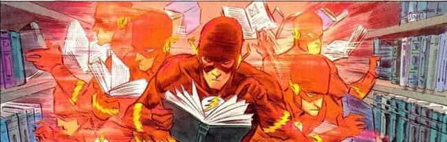 The Flash Can Speed-Lear... is listed (or ranked) 1 on the list 14 Weird Superpowers You Didn't Realize These Heroes Had