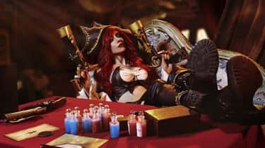 Pirate Miss Fortune is listed (or ranked) 2 on the list 26 League Of Legends Cosplay That Are In A League Of Their Own