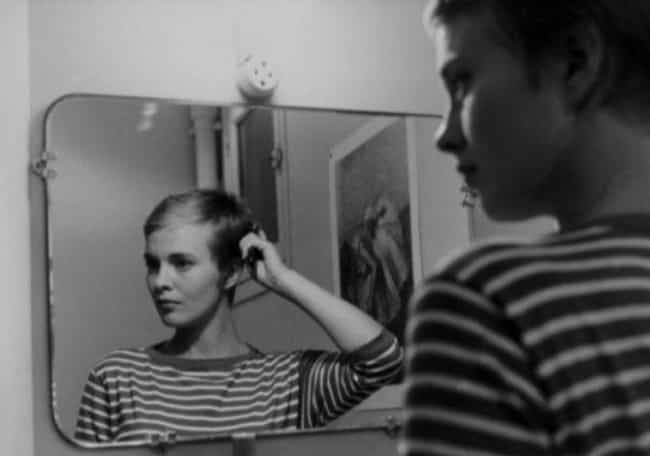 She Donated Large Sums O... is listed (or ranked) 4 on the list Breathlessly Tragic Tales From The Life Of French New Wave Icon Jean Seberg