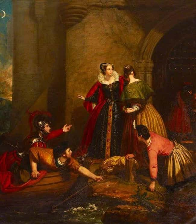 She Made A Dangerous Escape Fr is listed (or ranked) 8 on the list 14 Tragic Facts About Mary, Queen of Scots, The Most Unlucky Queen In History