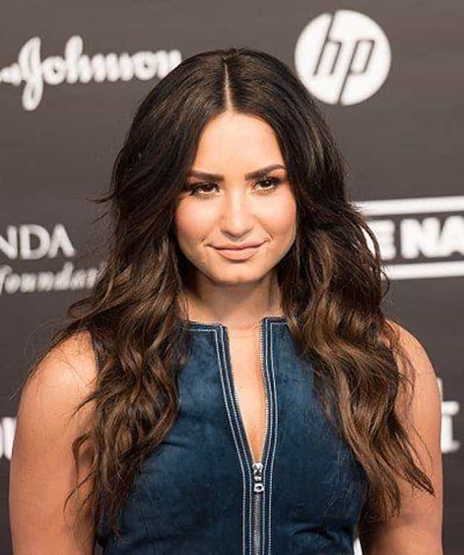 She's Really Leaning Int... is listed (or ranked) 1 on the list TMI Facts About Demi Lovato's Sex Life