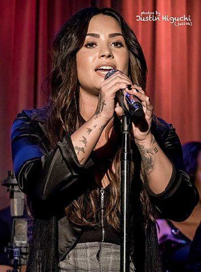 Lovato Drops Constant Bombs Ab... is listed (or ranked) 3 on the list TMI Facts About Demi Lovato's Sex Life