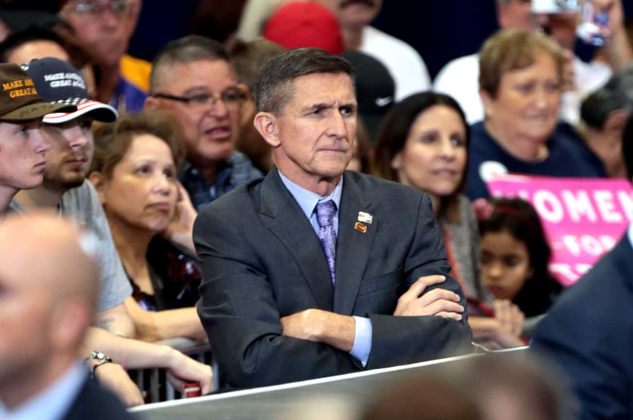 The Michael Flynn Problem is listed (or ranked) 4 on the list Every Connection Between Donald Trump and Vladimir Putin