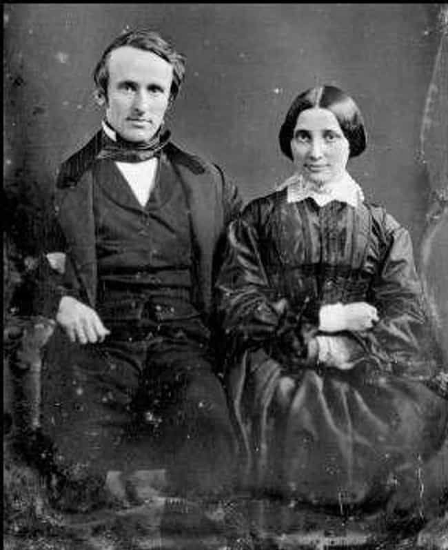 Rutherford And Lucy Haye... is listed (or ranked) 1 on the list Photos Of 13 U.S. Presidents On Their Wedding Day