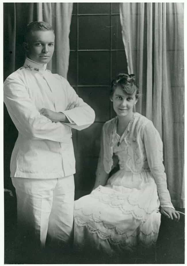 Dwight And Mamie Eisenho... is listed (or ranked) 3 on the list Photos Of 13 U.S. Presidents On Their Wedding Day