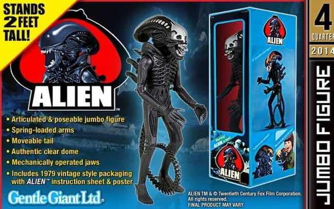 Kenner Toys 18'' Alien ... is listed (or ranked) 1 on the list 18 Terrifying Children's Toys Inspired By The Movie 'Alien'