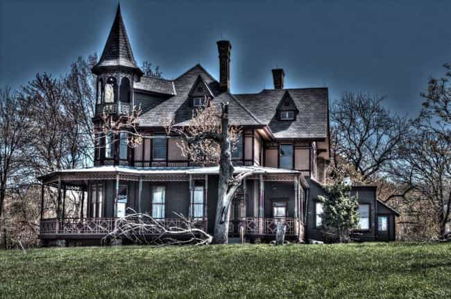 The Kreischer Mansion Has A Ho... is listed (or ranked) 2 on the list 15 Super Creepy Ghost Stories From New York City