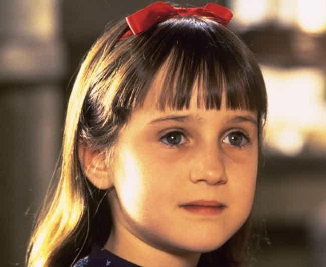 She Quit Acting After Her Moth... is listed (or ranked) 1 on the list Mara Wilson's Transition From Child Star To Literary Maven